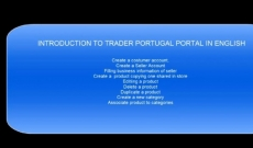 Introduction to  Trader Portugal Portal in English